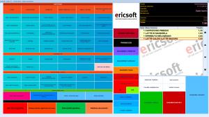 Software gestionale ristorante Ericsoft Risto 4° - Cassa touch Ristorante